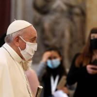 Papa inicia 'maratona de oração' pelo fim da pandemia