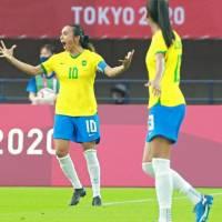 Marta marca o seu nome na história das Olimpíadas