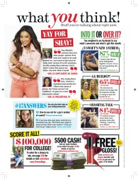 Seventeen - September 2012 - What You Think!