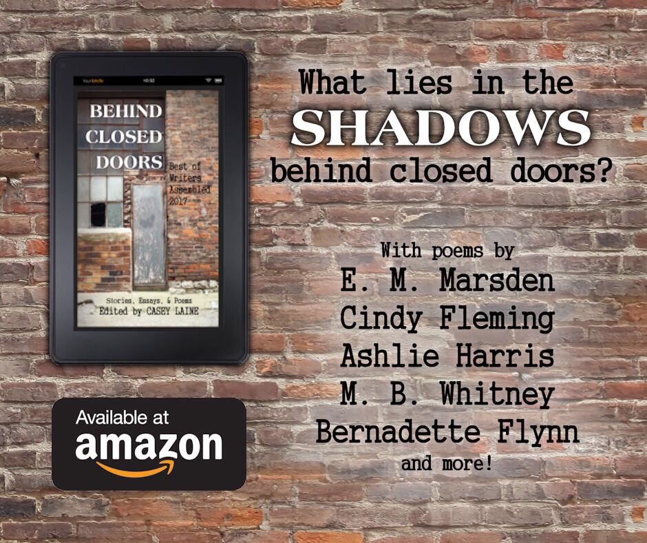 Reading   Bernadette Flynn Author I d like to encourage you all to check out  and wish a happy book birthday  to   Behind Closed Doors  a fantastic new anthology of literary works from