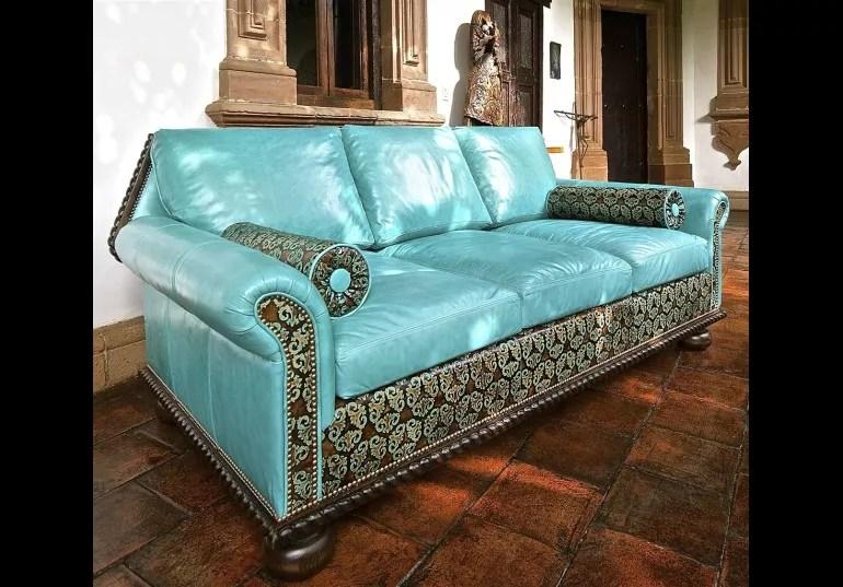 tex mex home furnishings bad ass luxury leather sofa 442