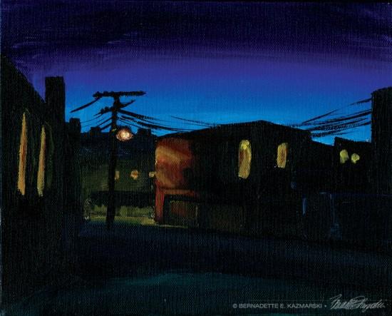 Alley in Dusk