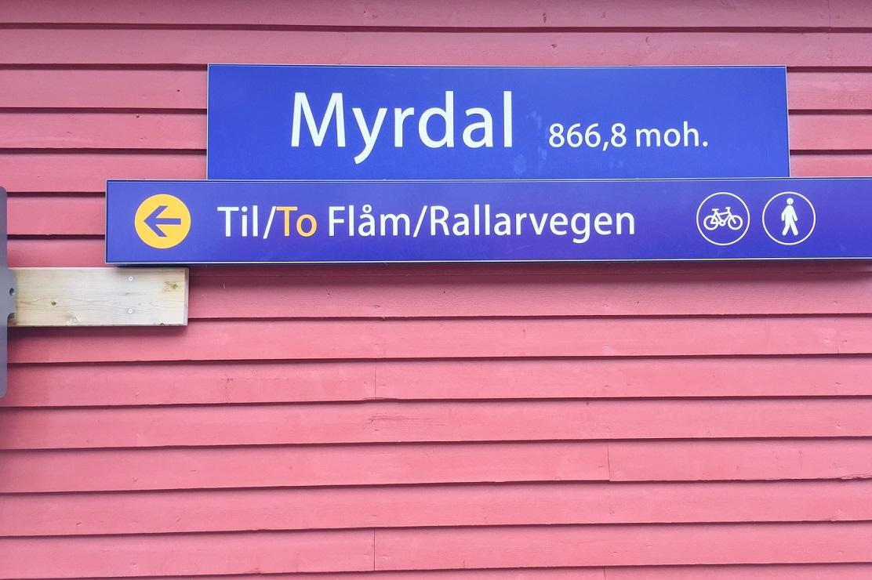 Myrdal train station