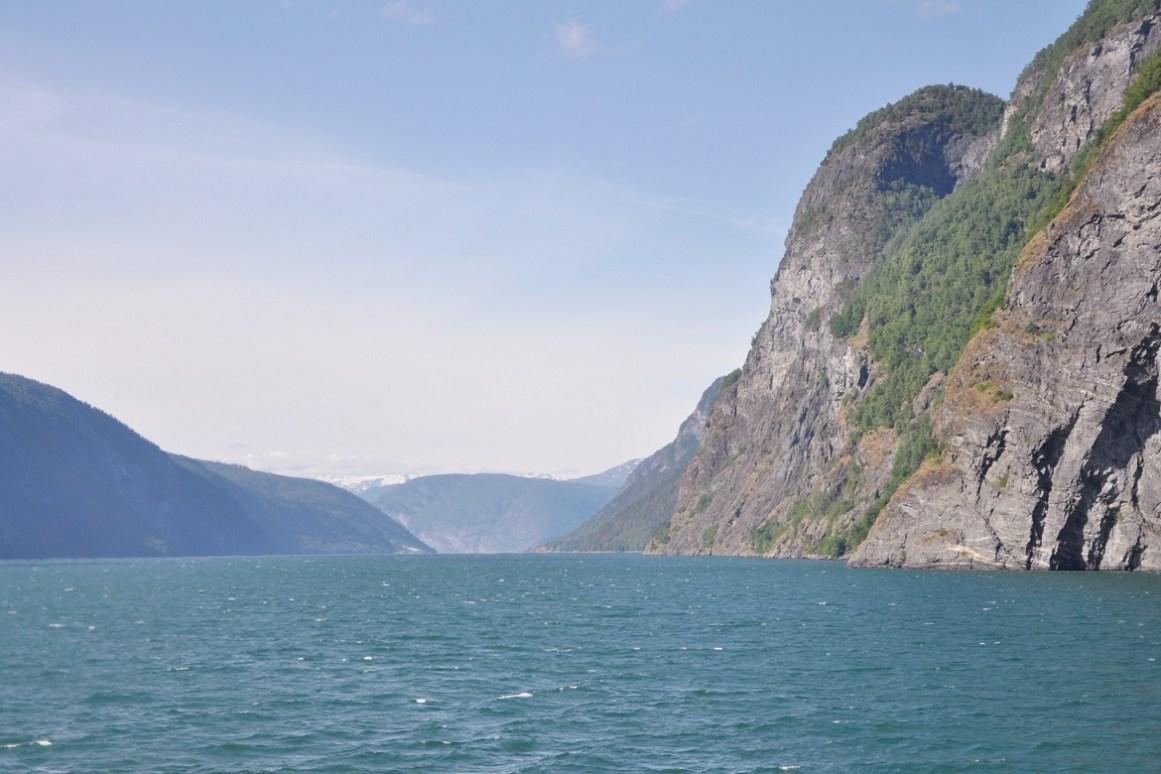 Norveç Aurlandsfjord