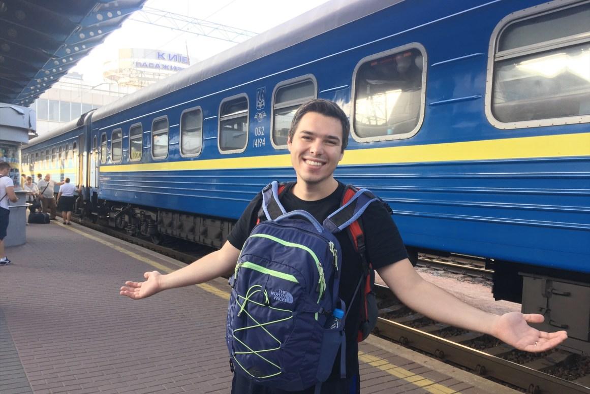 Lviv-Kiev tren yolculuğu