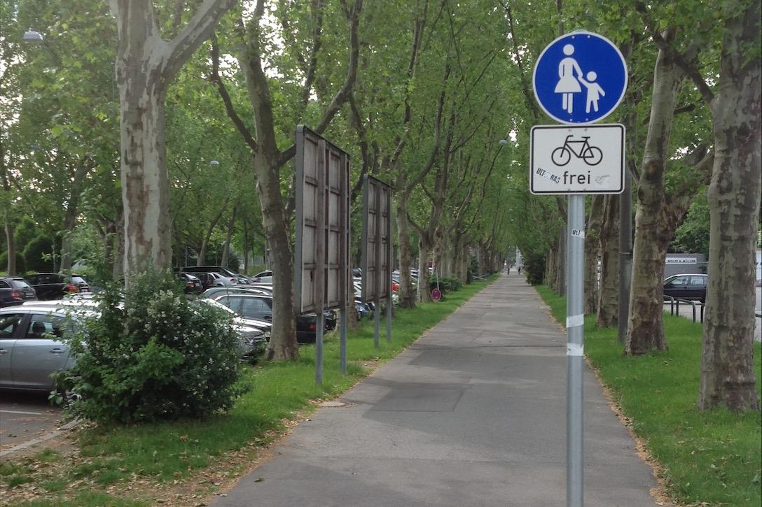 Stuttgart bisiklet yolları
