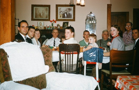Bucky Bernard, Bob Tollas, Lena Tollas, Alfred Tollas, Unknown Child, Phil Tollas, William Tritt, Jenny Tritt, Frank Tollas, Margie Bernard, Don Bernard, Chuck Tollas