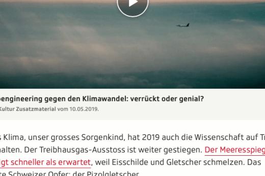 Screenshot Ausschnitt Artikel Wissensjahr 2019