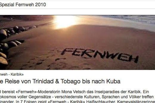 Screenshot Ausschnitt Webseite Fernweh 10