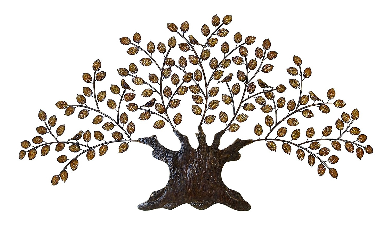 15 Best Ideas Of Metal Wall Art Trees And Branches