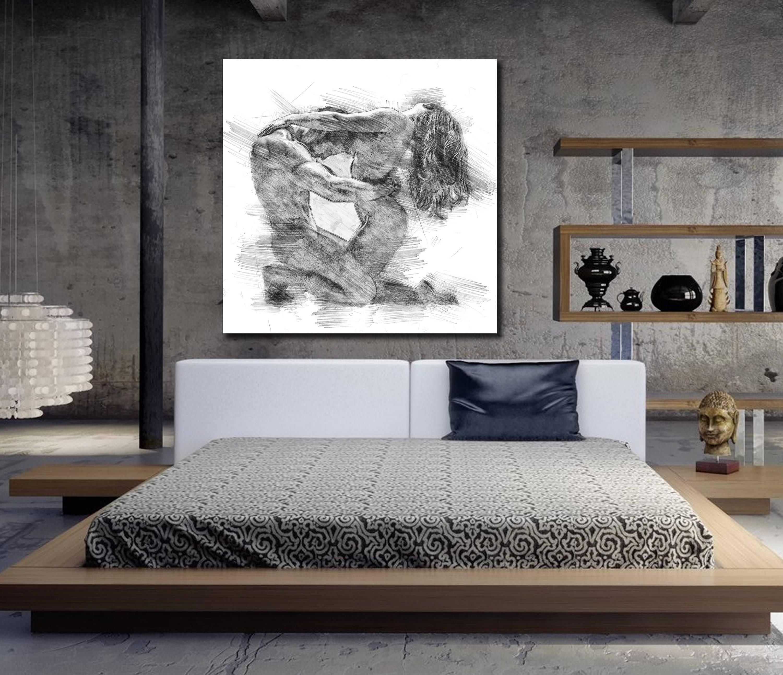 Canvas Wall Art Ideas For Bedroom Novocom Top