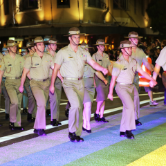 Harassment complaint – ADF involvement in the Mardi Gras