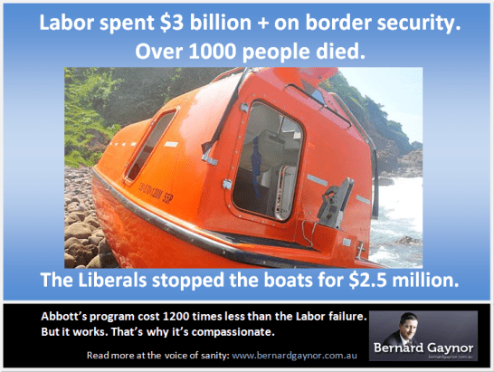 Libs stopped the boats