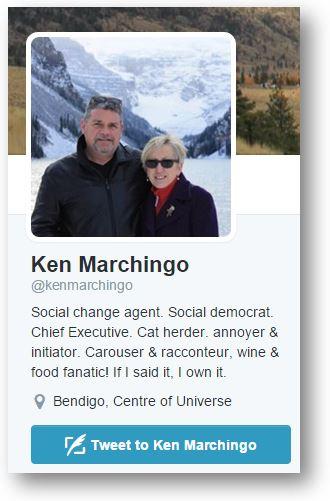 Ken Marchingo Twitter