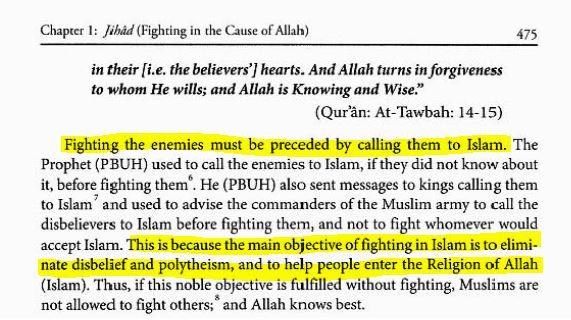 Islamic Jurisprudence - jihad