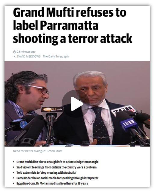 Telegraph headline