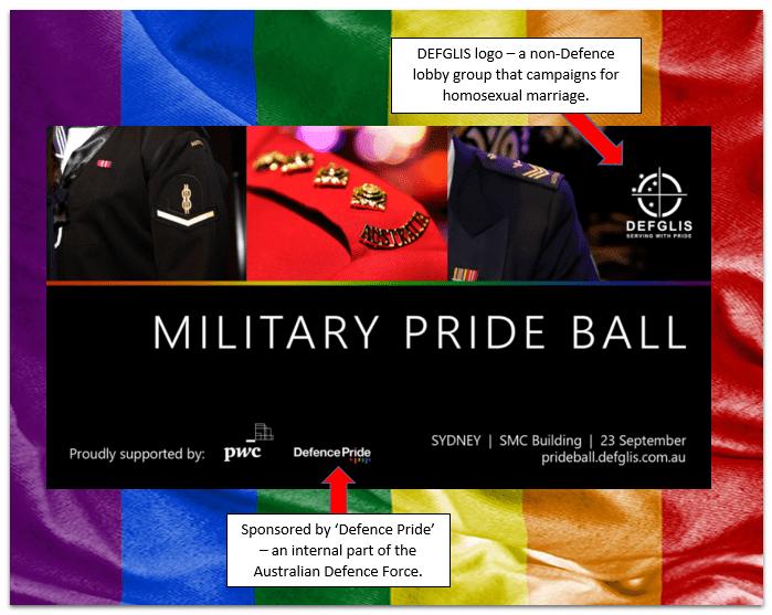 Military Pride Ball