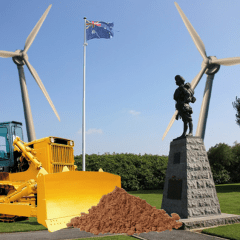 Petition: Save our war graves from French windmills