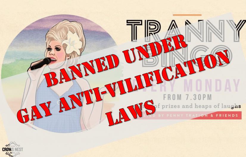 Tranny Bingo banned