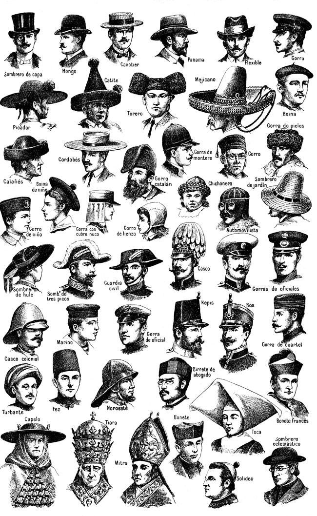 f528096b8688c Different Types of Hats have always been in fashion and there are many types  to choose from.