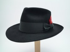 The Rigby Reardon Custom Handmade Beaver Fur Felt Fedora Hat