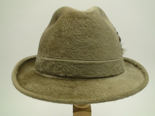Biltmore Galrie Canadian Beaver XXXV Oyster Color Fedora Hat