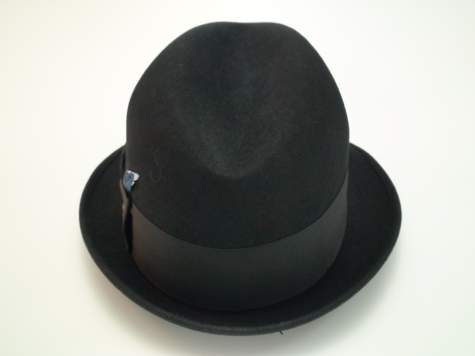 d3e91d49a44 Champ Hats Kasmir Finish Black Fur Felt Trilby Fedora Hat