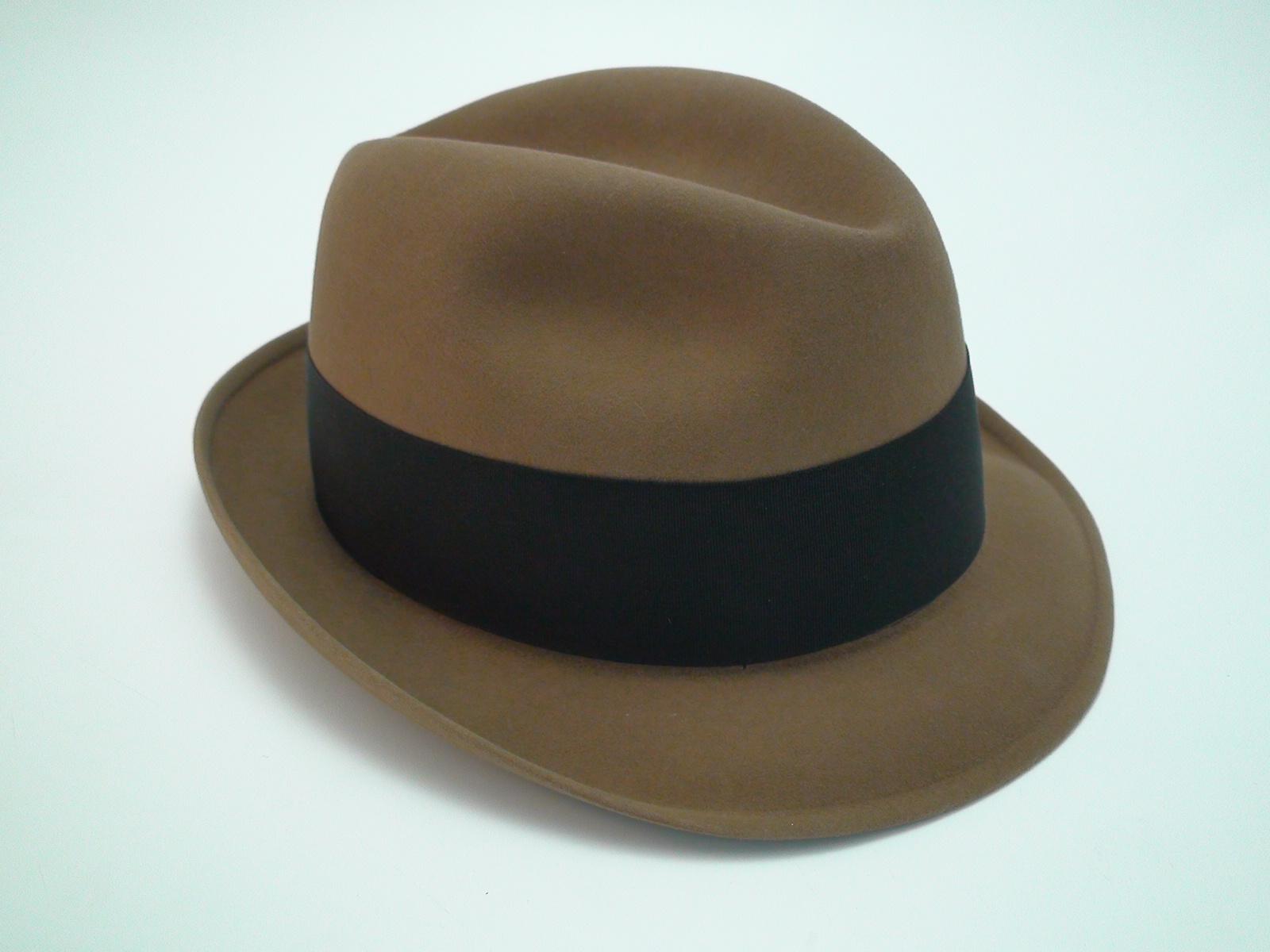 ae9c3e8fc3c5f Resistol Self Conforming 3X Beaver Kitten Finish Beige Fedora Hat