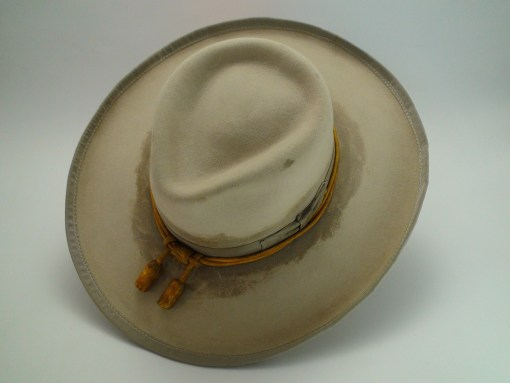 The Outlaw Custom Hand Made Beaver Fur Felt Western Movie Hat