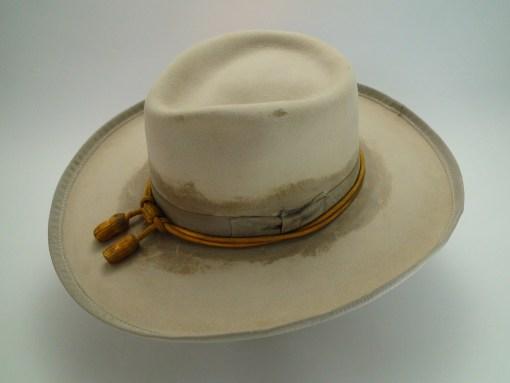 The Outlaw Custom Hand Made Beaver Fur Felt Western Movie Hat