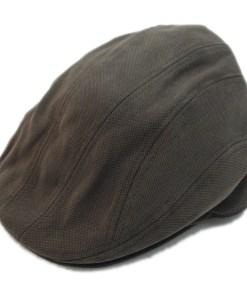 Stetson Ivy Cap Brown Cotton Blend Golf Newsboy Flat Cap