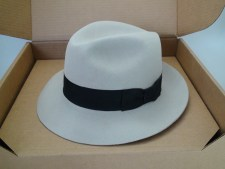 Smithbilt Hats Knight 5X 100% Fur Felt Silverbelly Fedora Hat