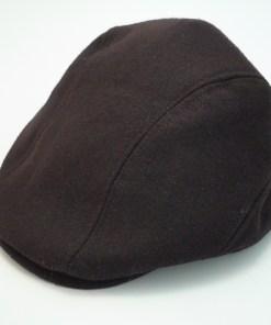 Stetson All American Ivy Cap Brown Wool Blend Driving Flat Cap