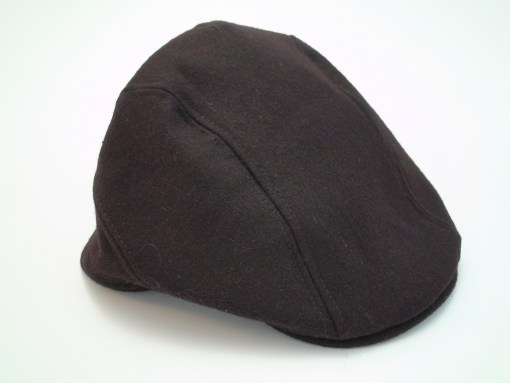 Stetson All American Ivy Cap Brown Wool Blend Driving Flat Cap