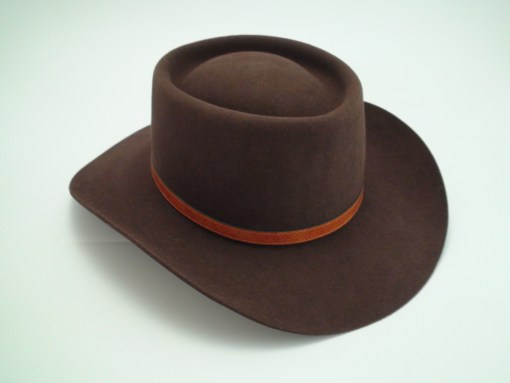 Akubra Down Under Rodeo Brown Australian Fur Felt Western Cowboy Hat