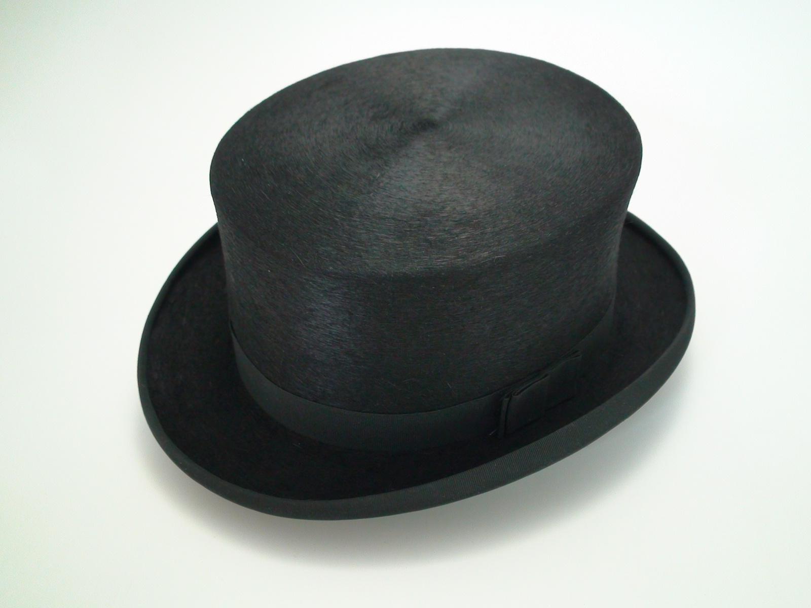 NEW Christys London Handmade 100% Fine Fur Felt Black Dressage Top Hat Size  7 3 8″ d7f8fba7e42
