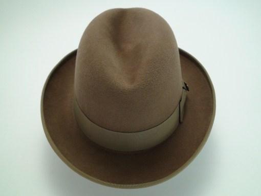 Biltmore Golden Pheasant Fawn Fur Felt Homburg Fedora Hat