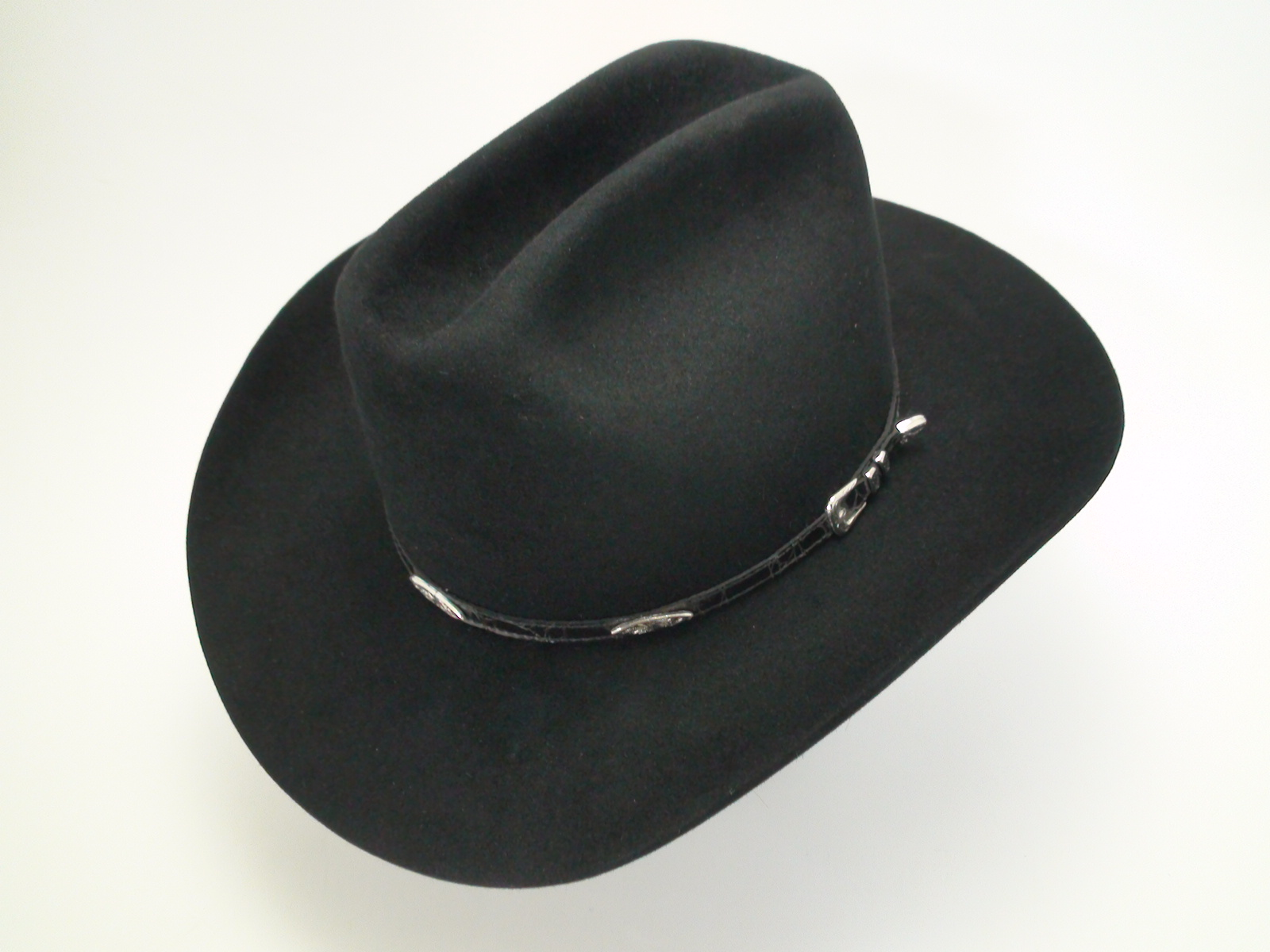 61eb70abddfc9 Latest Hat  Stetson Black Cowboy Hat - Bernard Hats