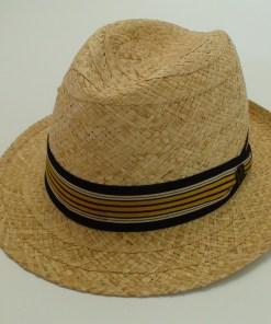 Biltmore Hats Optimo Natural Raffia Panama Fedora Hat