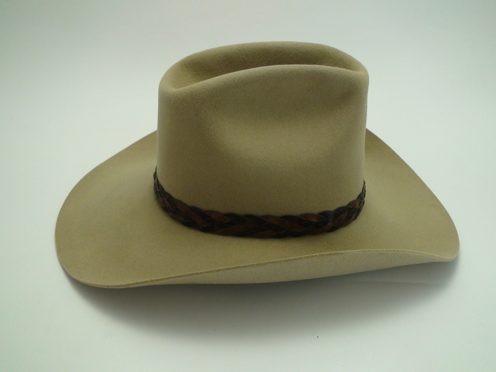 5db332552b2 Pair of Vintage Miller Bros Silverbelly Wool Felt Cowboy Hats
