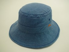 Tommy Bahama Washed Twill 100% Cotton Blue Outdoor Bucket Hat Size L