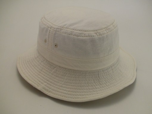 Tommy Bahama Relax Washed Twill 100% Cotton White Outdoor Bucket Hat