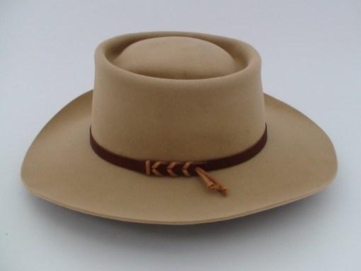 Stetson Gambler Style 5X Beaver Tan Fur Felt Cowboy Hat