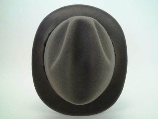 Stetson Royal De Luxe Grey Fur Felt Fedora Hat