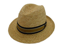 NEW Biltmore Hats Optimo Natural Raffia Panama Fedora Hat Made in Canada 4c7711c83471
