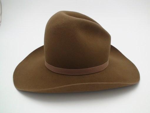 Miller Brothers 101 Ranch Hat 3X Beaver Chestnut Cowboy Hat