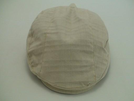 Stetson Ivy Cotton Twill Beige Golf Newsboy Flat Cap