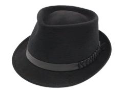 Champ Hats Fedora Black Feel The Felt Trilby Hat