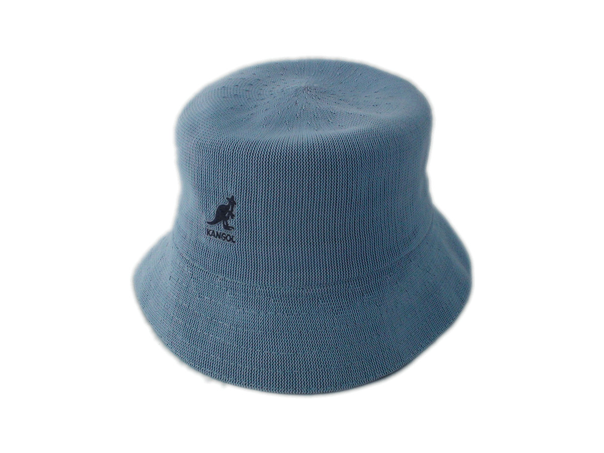 20afd4ef256 Kangol Tropic Bermuda Baby Blew Bucket Hat - Bernard Hats