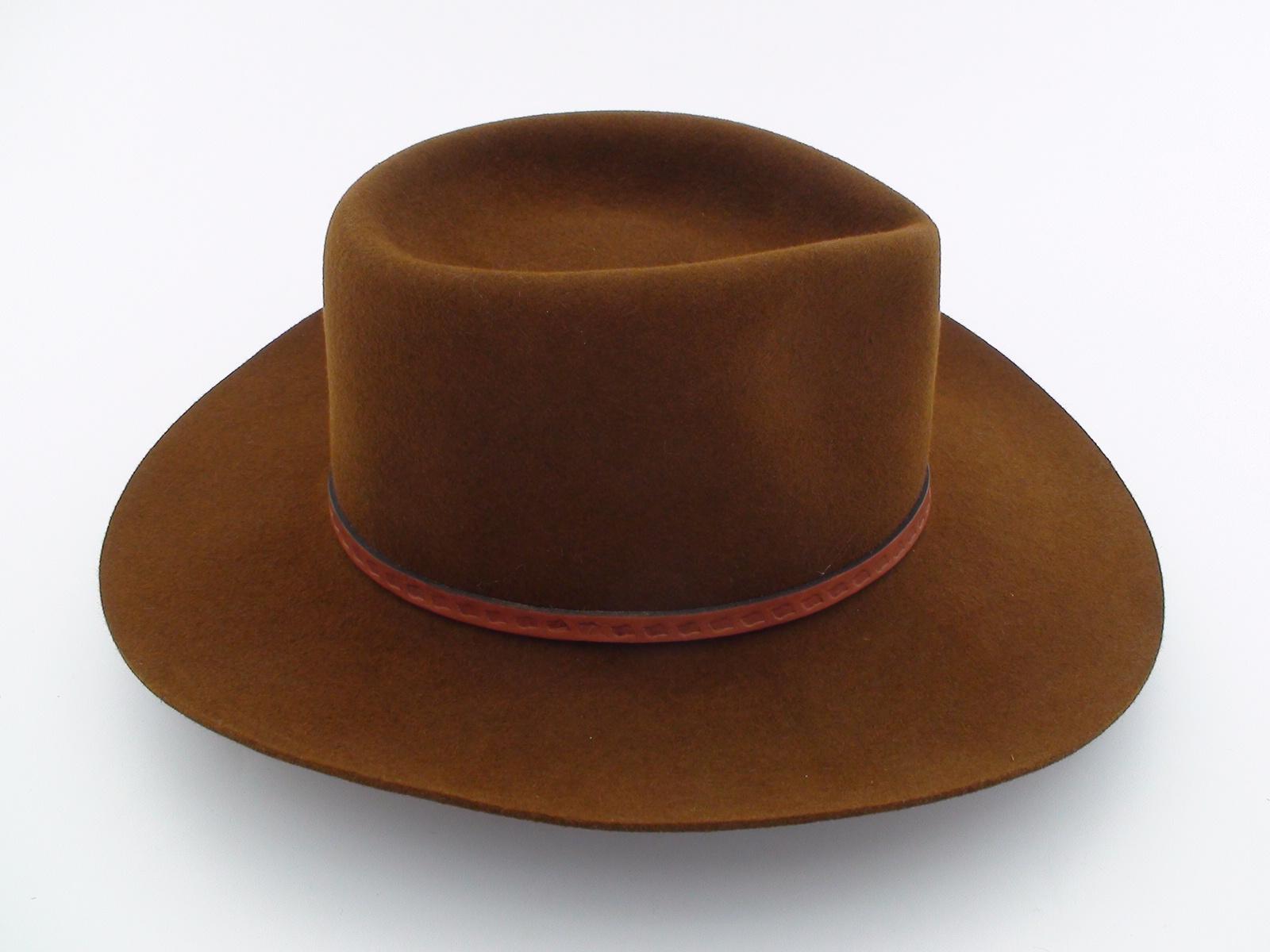 73b0310d4e5 Smithbilt Hats Brown Fur Felt Western Cowboy Hat - Bernard Hats